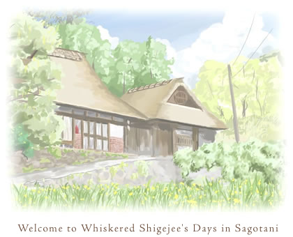 Welcome to Whiskered Shigejee's Days in Sagotani.